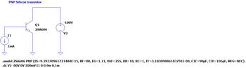 2SA606 LTspice simulation circuit.png